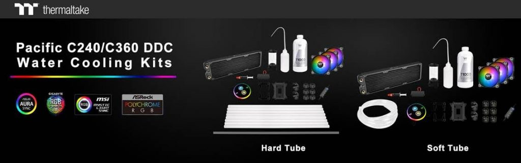 Thermaltake Pacific C240/C360 Liquid Cooling Kit