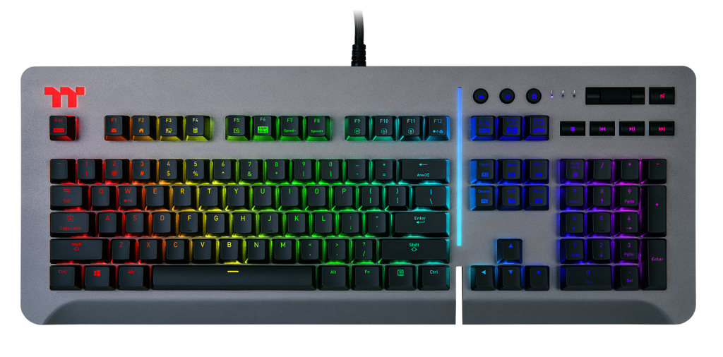 Thermaltake Level 20 RGB Keyboard Front