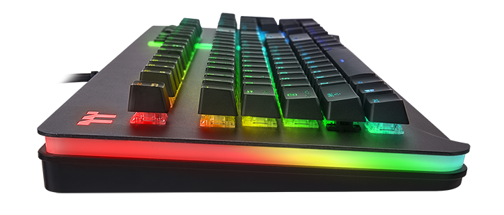 Thermaltake Level 20 RGB Keyboard Features Side