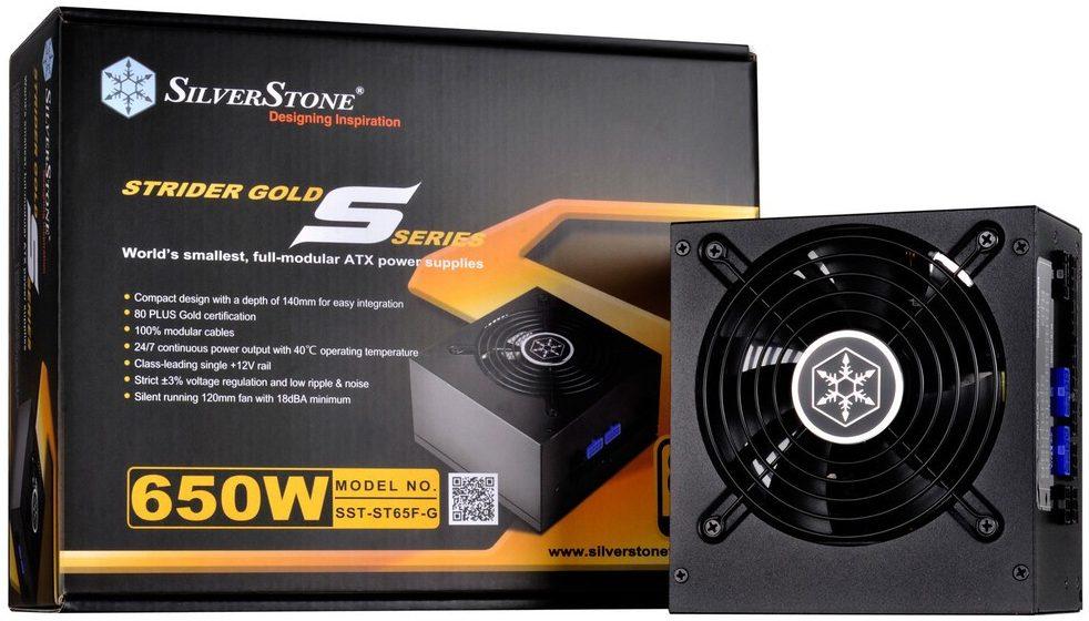 SilverStone Strider Gold S 550W PSU