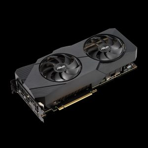 ASUS GeForce RTX 2080 Dual EVO Front Bottom