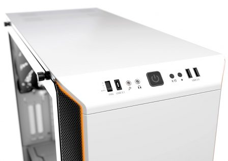 Be Quiet! Dark Base 700 White Edition Front