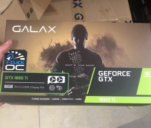 GALAX GeForce GTX 1660 Ti Box Front