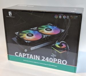 DeepCool Gamer Storm Captain 240 Pro Box Wrapped