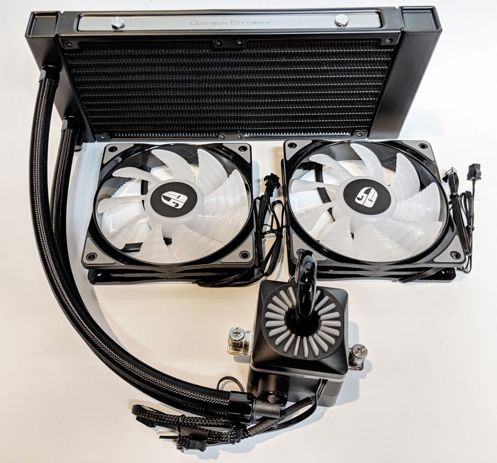 DeepCool Gamer Storm Captain 240 Pro Contents