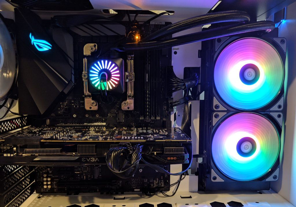 DeepCool Gamer Storm Captain 240 Pro Installed Ryzen