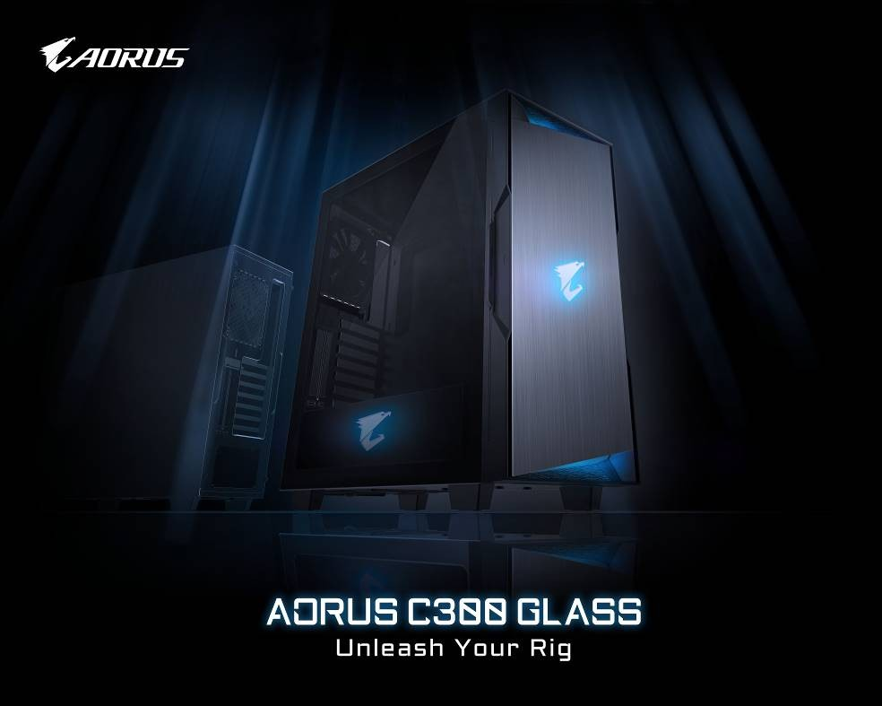 Gigabyte Aorus C300 Glass Featured