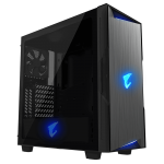 Gigabyte Aorus C300 Glass Case Front Left