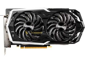 MSI ARMOR GTX 1660 Ti Graphics Card