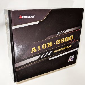 Biostar A10N-8800E Motherboard Box Front