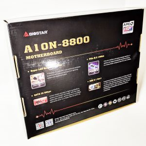 Biostar A10N-8800E Motherboard Box Rear