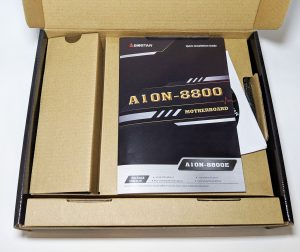 Biostar A10N-8800E Motherboard Box Packaging