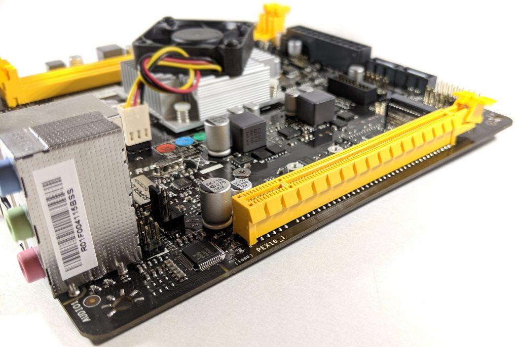 Biostar A10N-8800E Motherboard PCI-E Slot