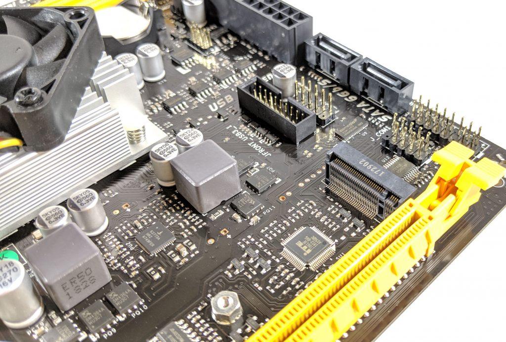 Biostar A10N-8800E Motherboard M.2 Slot