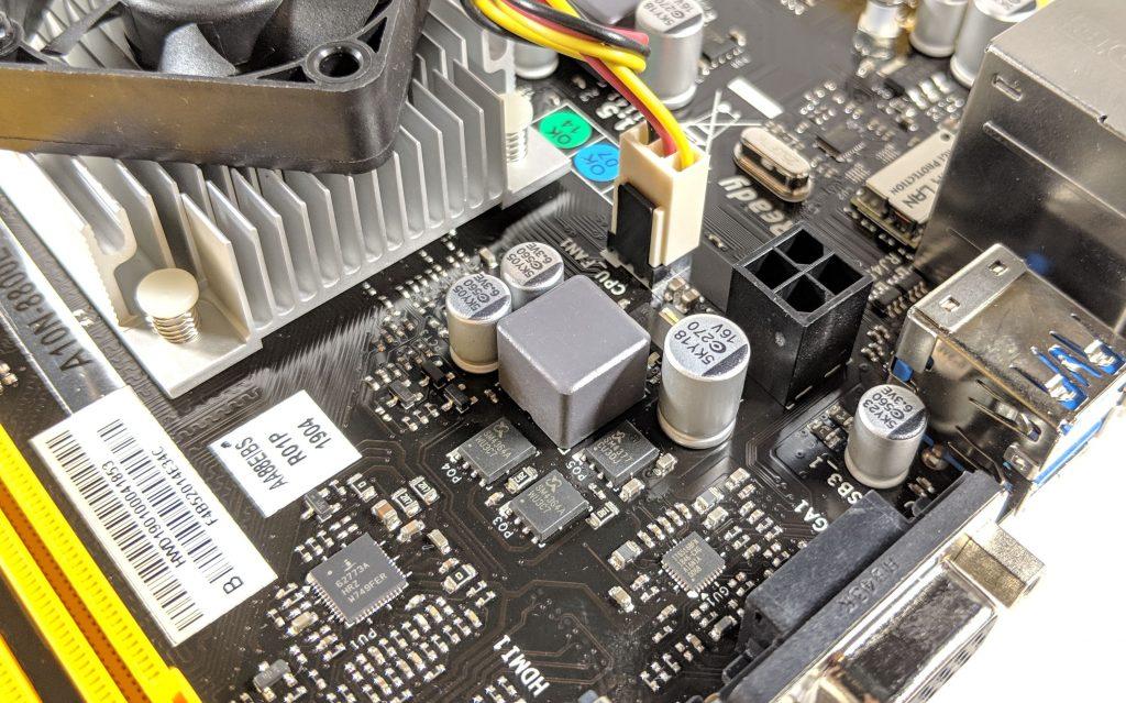 Biostar A10N-8800E Motherboard CPU VRM