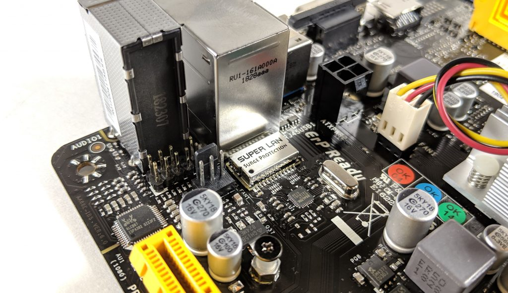 Biostar A10N-8800E Motherboard LAN