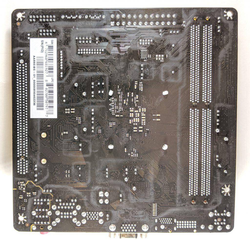 Biostar A10N-8800E Motherboard Back