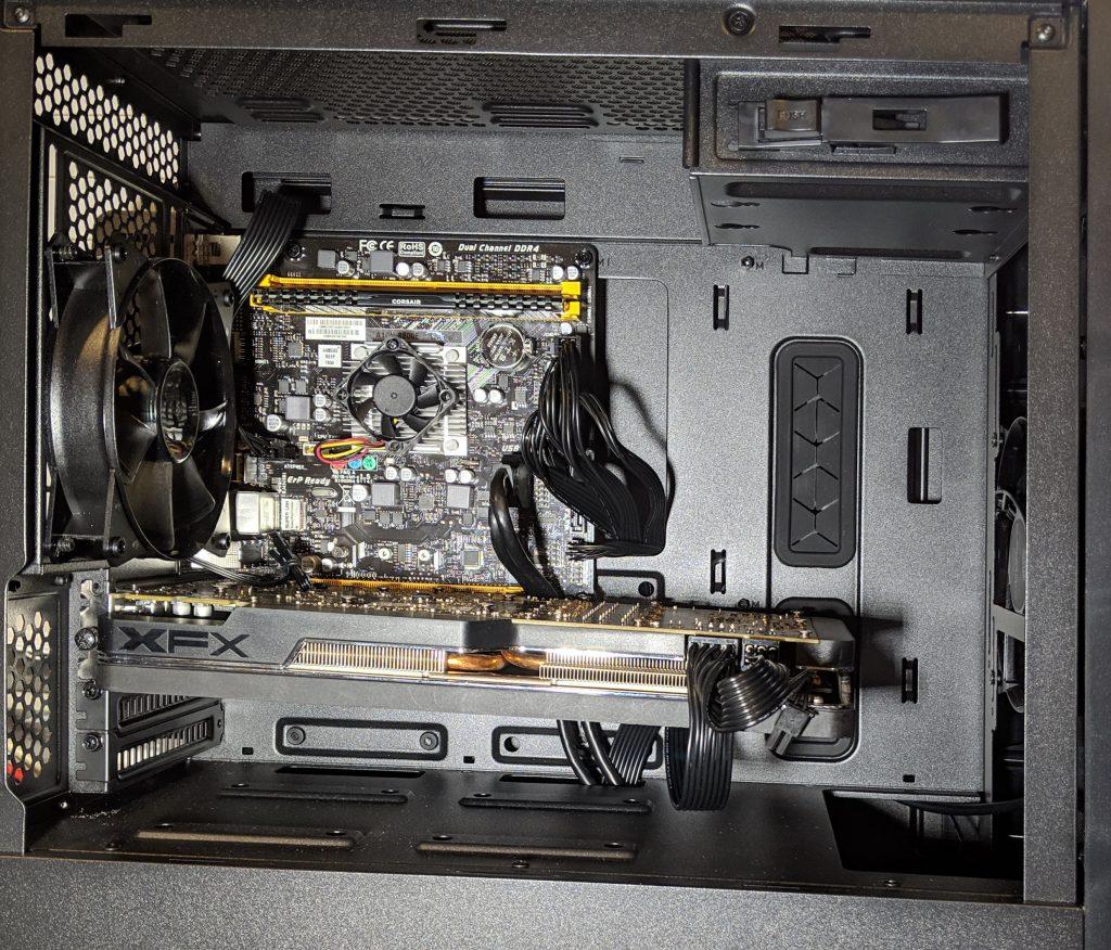 Biostar A10N-8800E Motherboard Installed