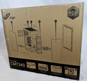 FSP CMT340 Case Box Rear