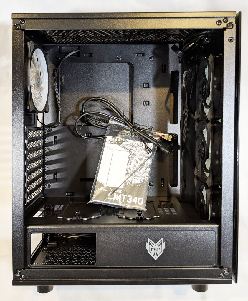 FSP CMT340 Case Inside with Items