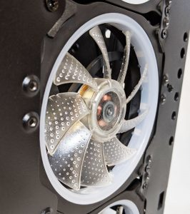 FSP CMT340 Case Front Fan Close Up