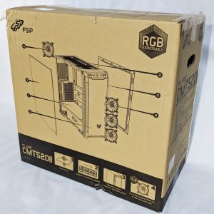 FSP CMT520 Plus PC Case Box Back