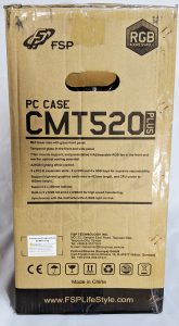 FSP CMT520 Plus PC Case Box Left