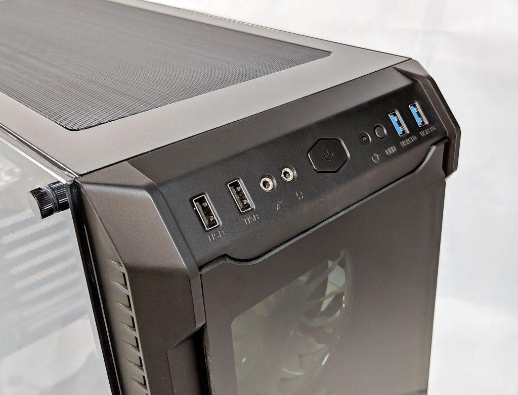FSP CMT520 Plus PC Case I/O Panel