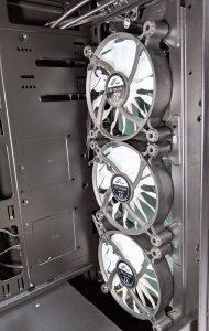 FSP CMT520 Plus PC Case Front Fans Inside