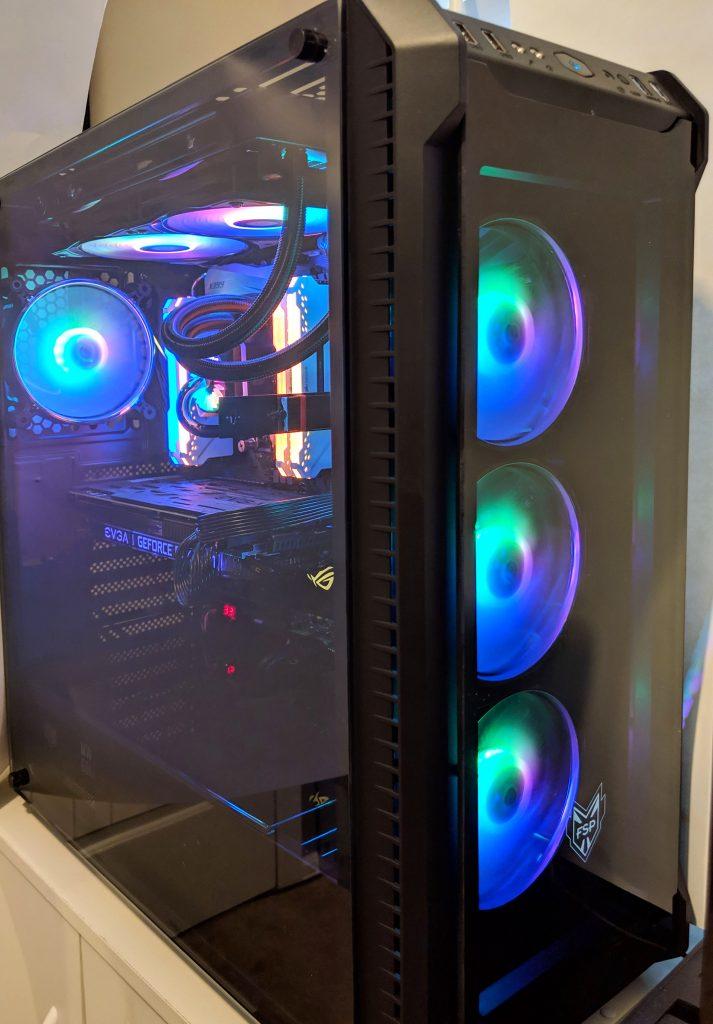 FSP CMT520 Plus PC Case Built RGB