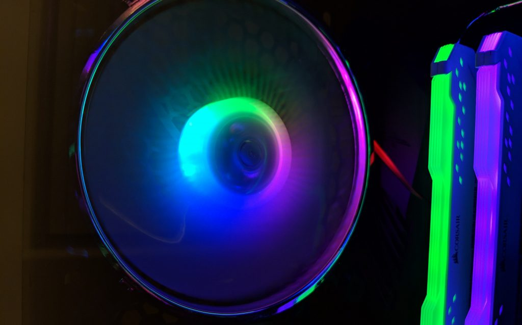 FSP CMT520 Plus PC Case RGB Fan