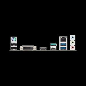 ASUS TUF B450M-Pro Gaming AM4 Motherboard I/O Ports