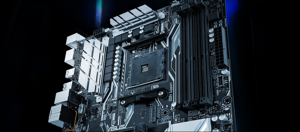 ASUS X570 Motherboard Featured
