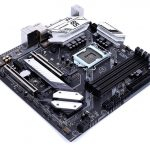 Colorful CVN B365M Gaming Pro V20 Motherboard Angle Bottom