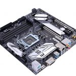 Colorful CVN B365M Gaming Pro V20 Motherboard Angle Top