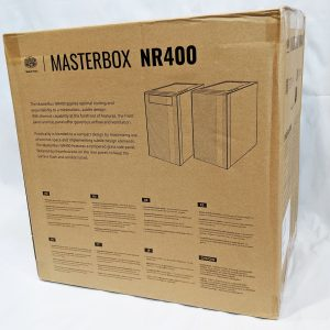 Cooler Master MasterBox NR400 Box Rear
