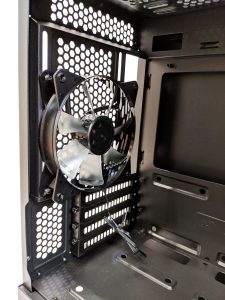 Cooler Master MasterBox NR400 Rear Fan Inside
