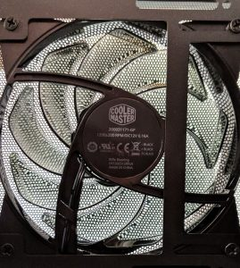 Cooler Master MasterBox NR400 Front Fan Model
