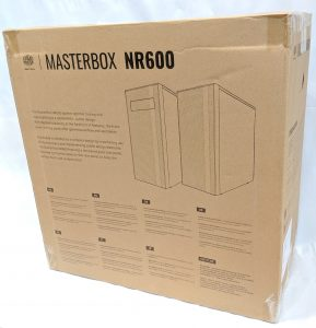Cooler Master NR600 Case Box Rear