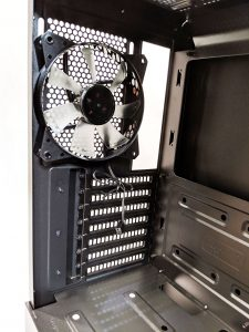 Cooler Master NR600 Case Inside Rear Fan