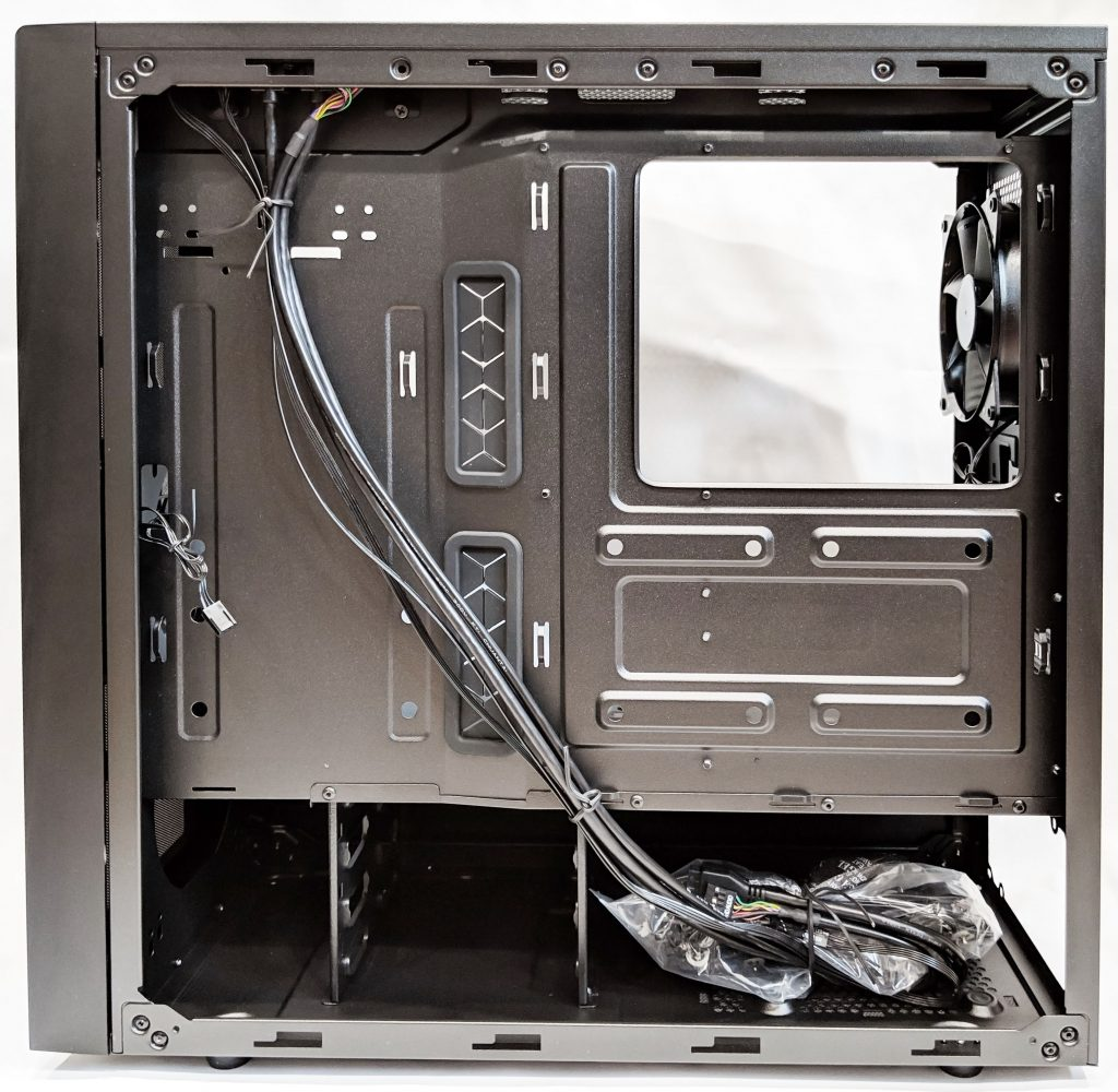 Cooler Master NR600 Case Inside Motherboard Tray
