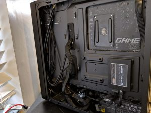 Cooler Master NR600 Case Built Behind MB