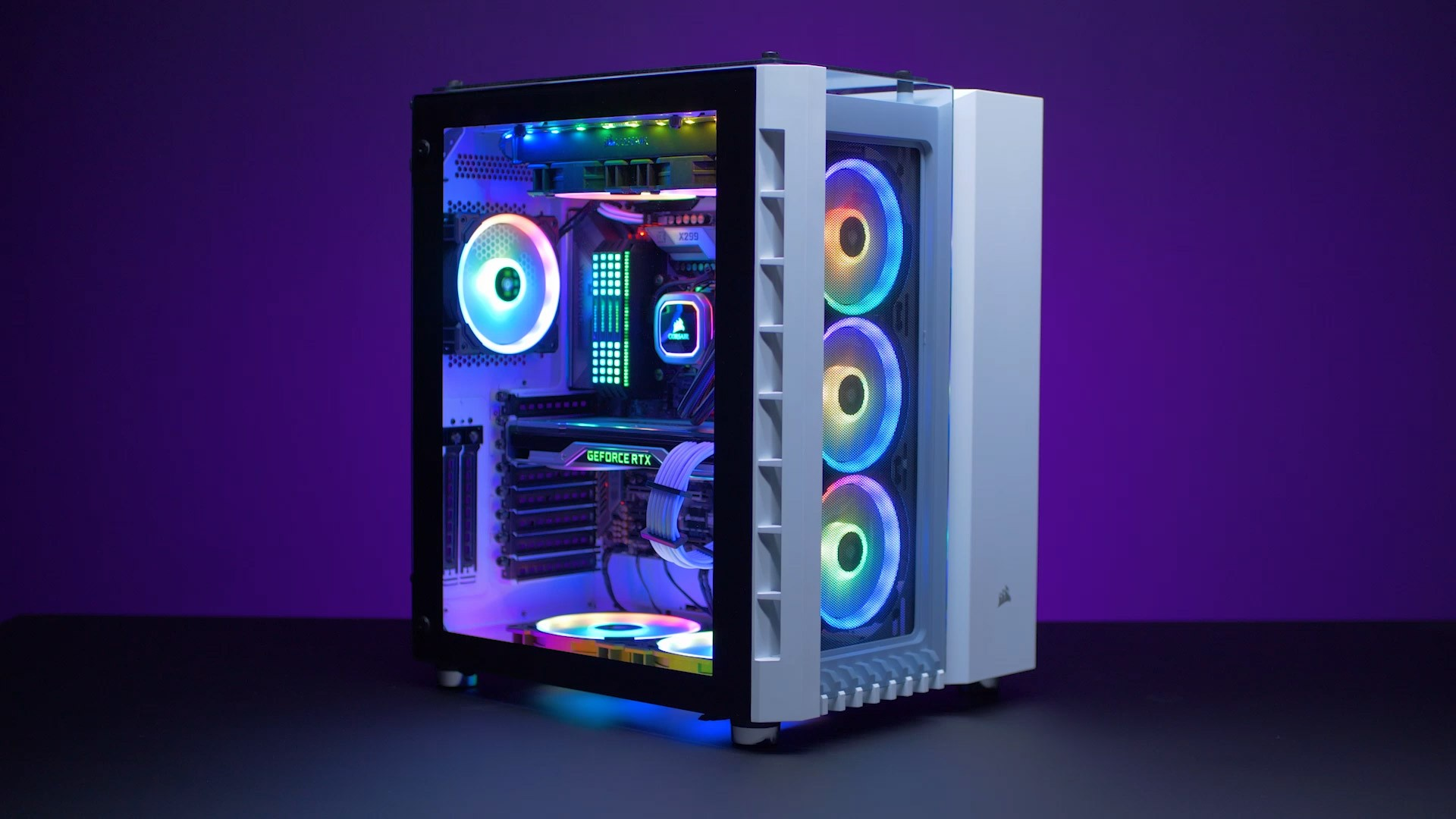 Liquid Cooled Pc >> CORSAIR Crystal Series 680X RGB and Carbide Series 678C ...