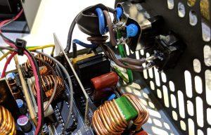FSP Hydro GE 650W PSU Inside Input