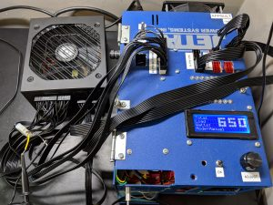 FSP Hydro GE 650W PSU Test Bench PSU Load