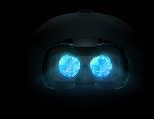 Oculus Rift S VR Headset Inside