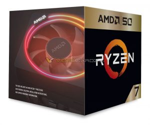 AMD Ryzen 7 2700X 50th Anniversary Edition 1