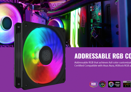 Cooler Master Square Fan RGB Featured