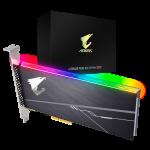 AORUS RGB AIC NVMe SSD Box