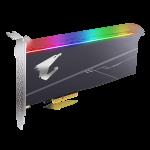 AORUS RGB AIC NVMe SSD Front